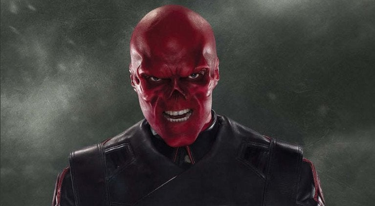Captain America Red Skull