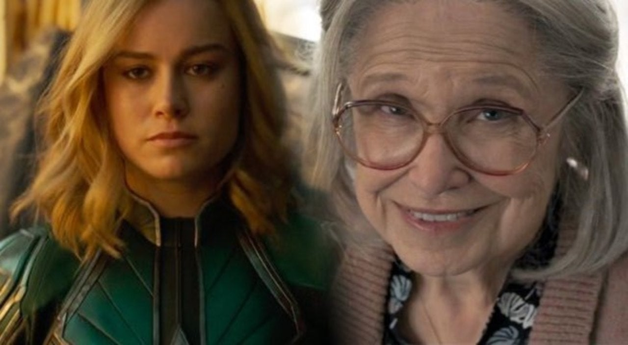 Captain Marvel Punching An Old Lady Has Become A Hilarious Internet Meme