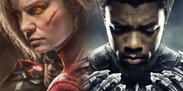 Rumor Captain Marvel Trailer And Black Panther 2
