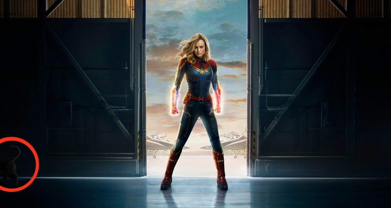 Does Captain Marvel Have a Cat?