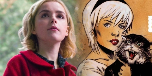 chilling adventures of sabrina kiernan shipka salem