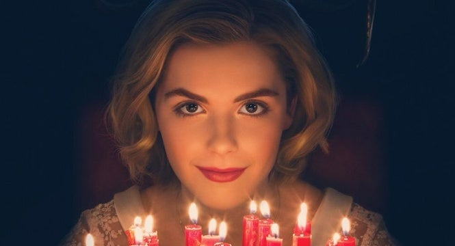 chilling adventures of sabrina poster netflix