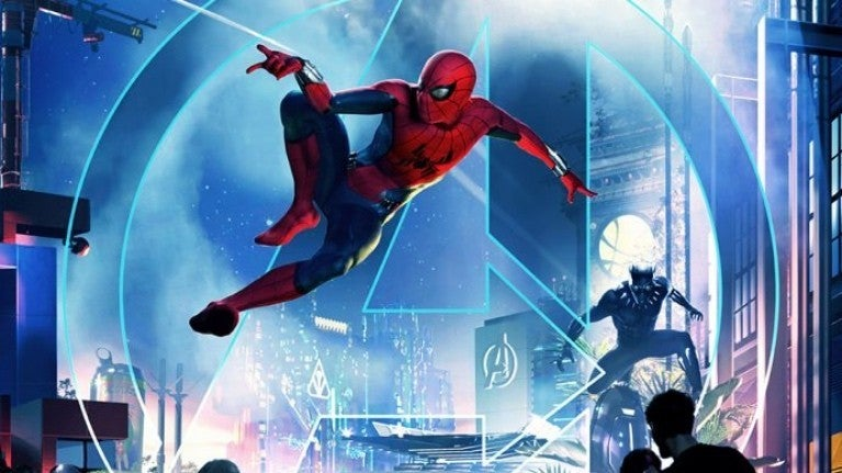 DCA Marvel Spider-Man Black Panther