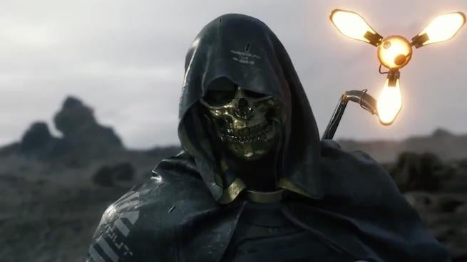 death stranding golden mask
