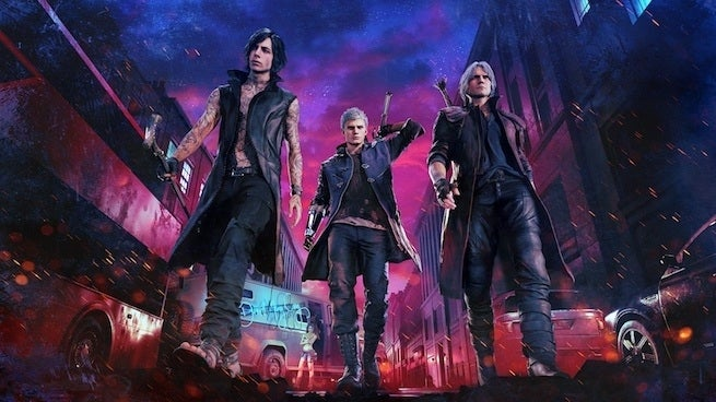 devil may cry 5 squad