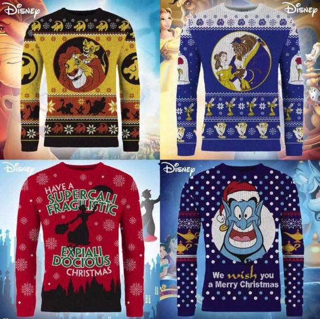 b7cf7bc2d36 Here Are Disney s Ugly Christmas Sweaters for 2018