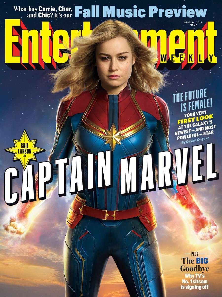 'Captain Marvel' Officially Lands With New Magazine Cover