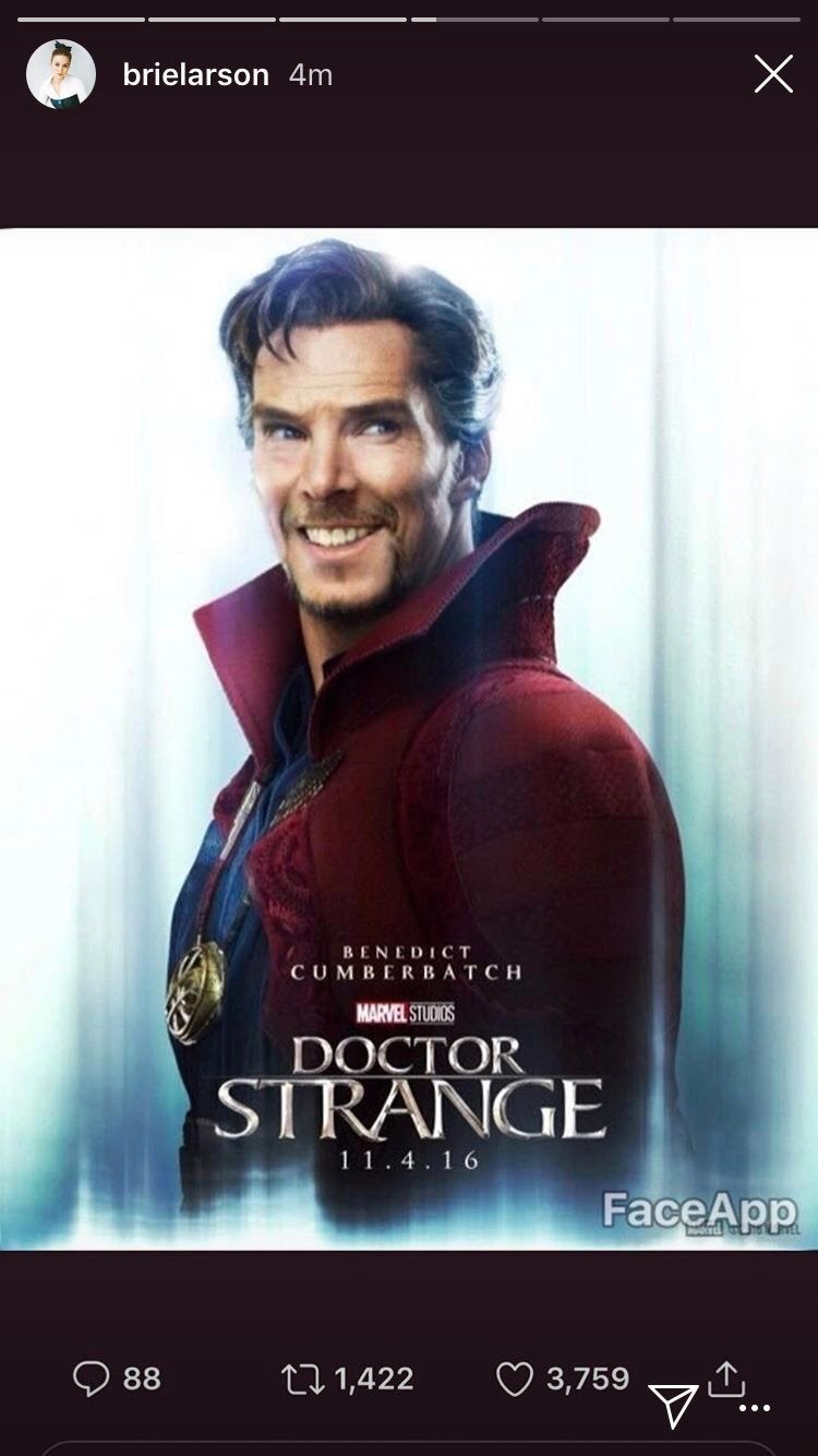 doctor strange smiling photoshop