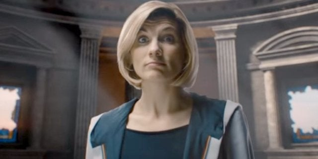 Doctor Who glass ceiling