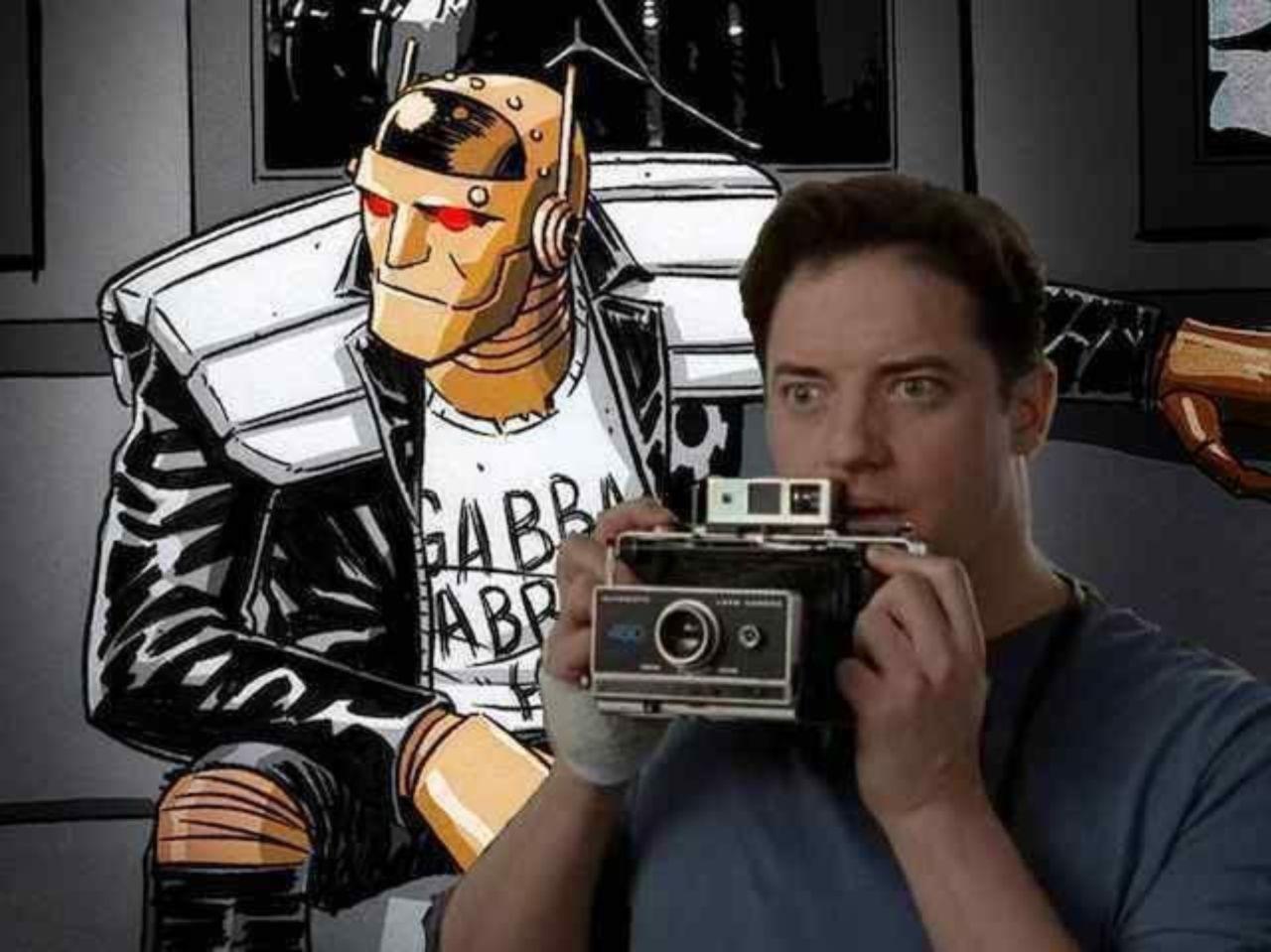 Doom Patrol': Official Photo of Brendan Fraser's Robot Man