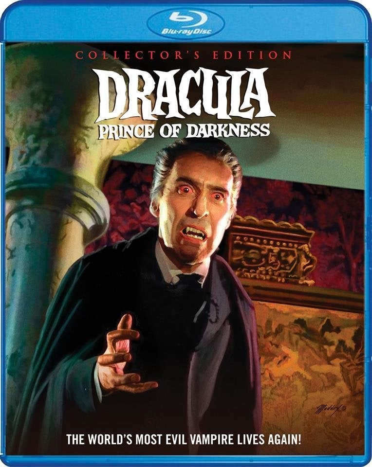 dracula prince of darkness blu ray christopher lee