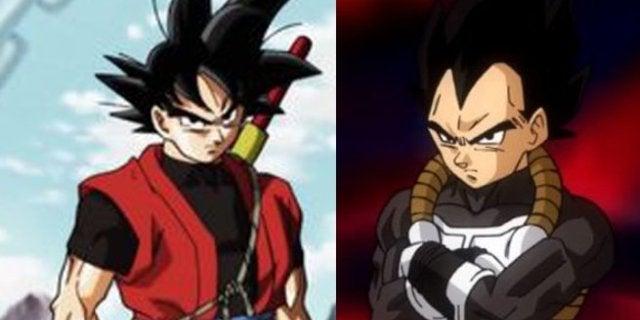 Dragon Ball Heroes Episode 5 Goku Vegeta Xeno teamup fight