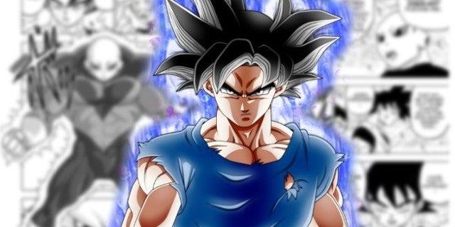 Dragon Ball Super Goku Ultra Instinct Powers Manga