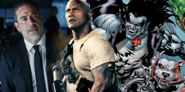 Dwayne Johnson Jeffrey Dean Morgan Lobo comicbookcom