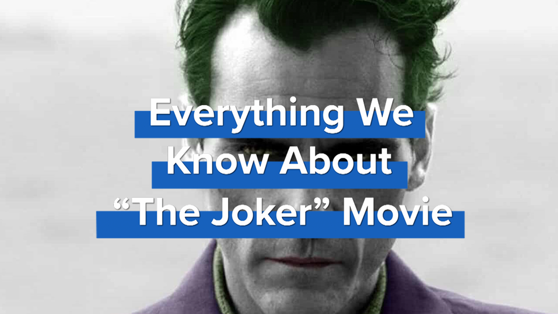Everything We Know About The Joker Movie screen capture