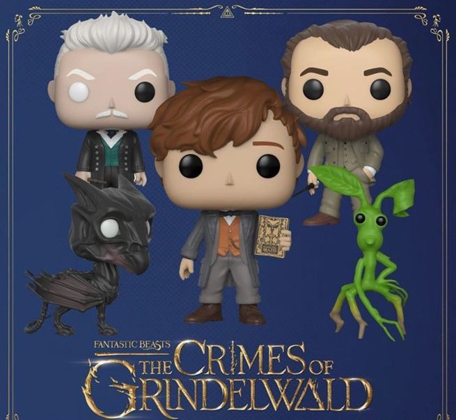 POP Keychain Funko Pickett New Fantastic Beasts 2 Crimes of Grindelwald