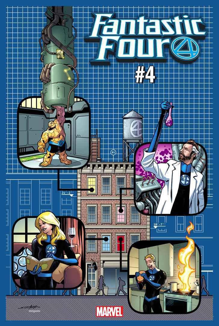 Fantastic Four 4 Variant