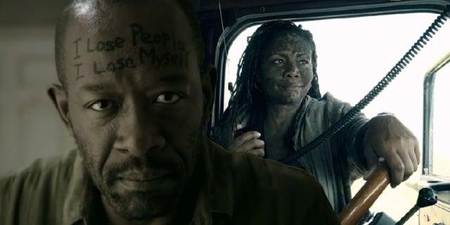 Fear The Walking Dead Morgan Filthy Woman comicbookcom