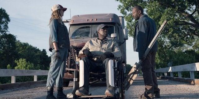 Fear The Walking Dead Morgan Wendell Sarah