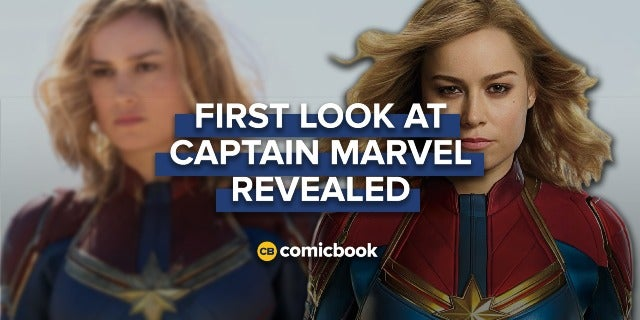 First Look at 'Captain Marvel' Released screen capture