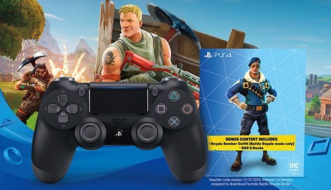 Fortnite' PlayStation Controller Bundle Revealed