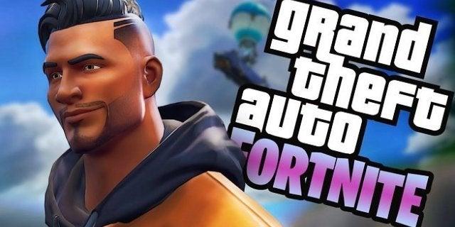 Fortnite Grand Theft Auto