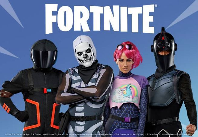 Fortnite Halloween Collection Includes Costumes And A 17
