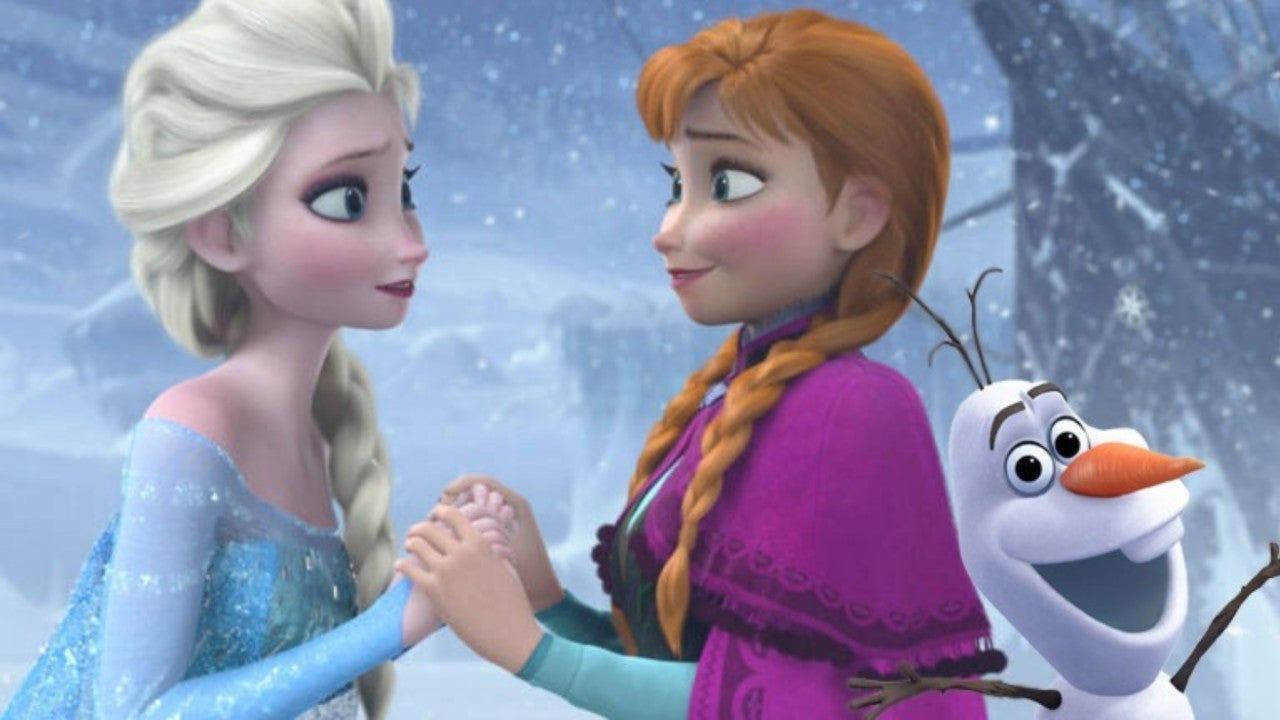 Elsa and Anna Team Up in New Frozen 2 Poster