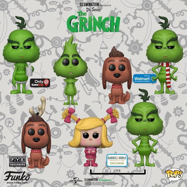 d0ca2a28c9f Funko Launches Pop Figures For  The Grinch  Animated Film