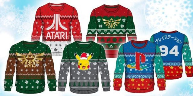 gaming-ugly-christmas-sweaters