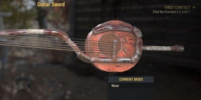 guitar sword