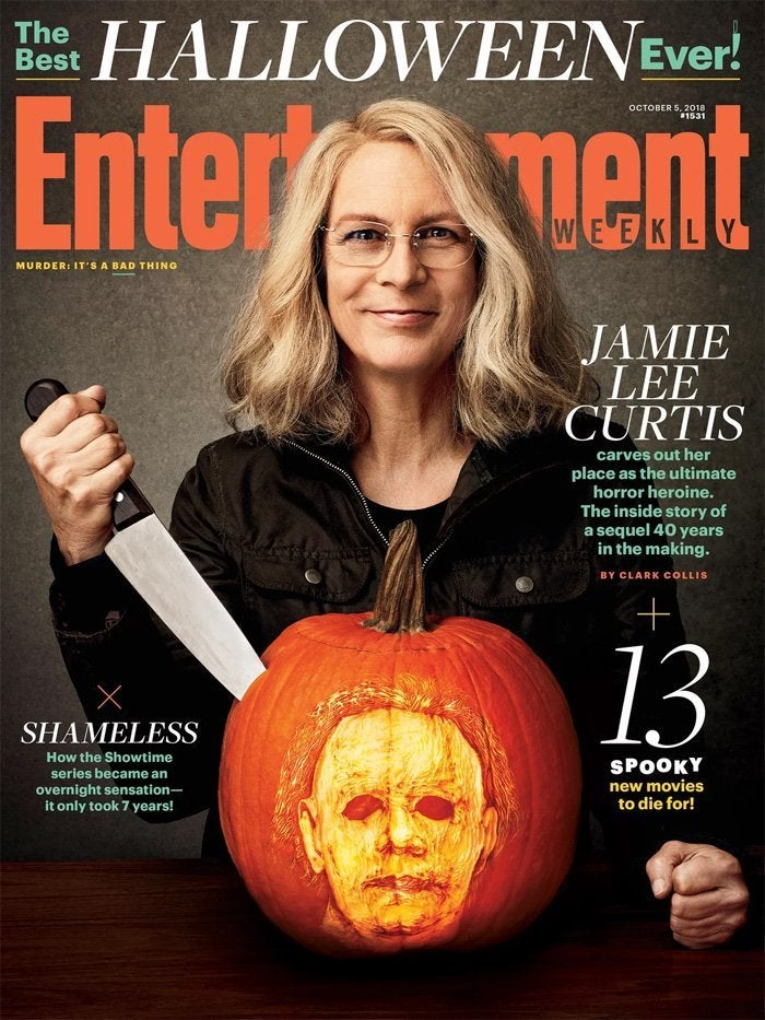 halloween entertainment weekly cover jamie lee curtis