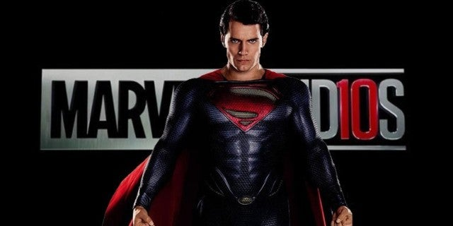 henry cavill superman mcu