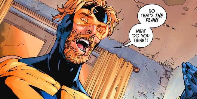 Heroes In Crisis Suspect List - Booster Gold