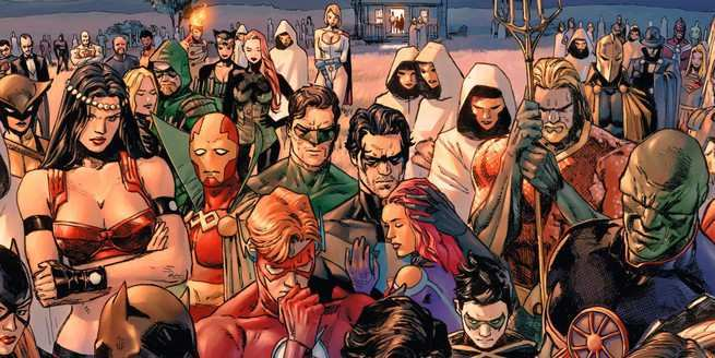 Heroes In Crisis Suspect List - Cover