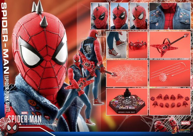 Hot Toys - Marvel Spider-Man - Spider-Man (Spider-Punk Suit) Collectible Figure_PR21