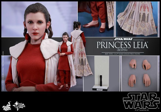 Hot Toys - Star Wars - Princess Leia (Bespin) Collectible Figure_PR18
