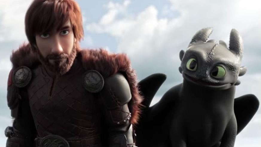 how to train your dragon hiccup toothless