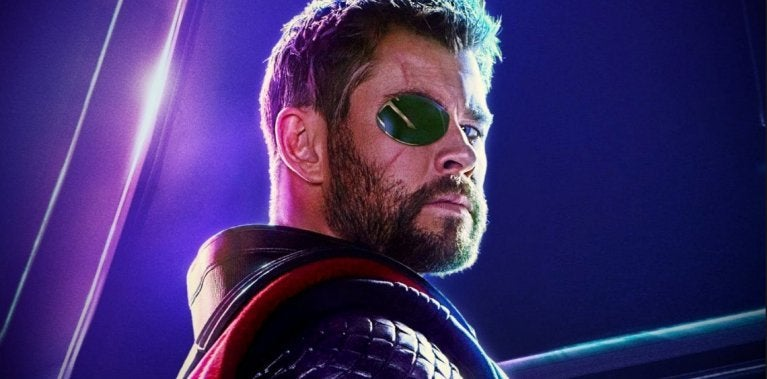 Infinity War Thor Hemsworth