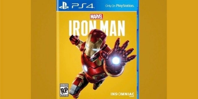 iron man ps4 cover