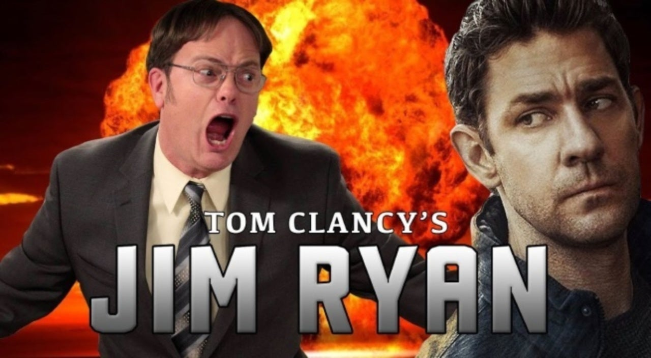 This 'Jack Ryan' and 'The Office' Parody Trailer Will Make