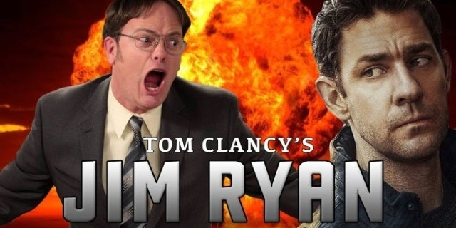 This 'Jack Ryan' and 'The Office' Parody Trailer Will Make Your Day