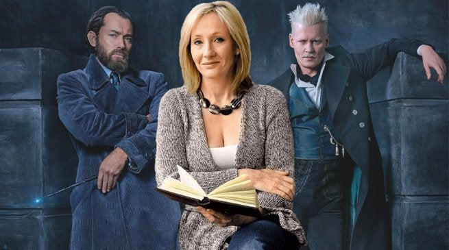JK Rowling New Books Preview 2018