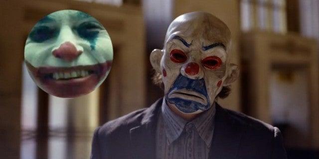 Joaquin Phoenix Joker Makeup Dark Knight Connection
