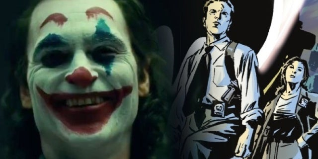 joker movie gotham city police department