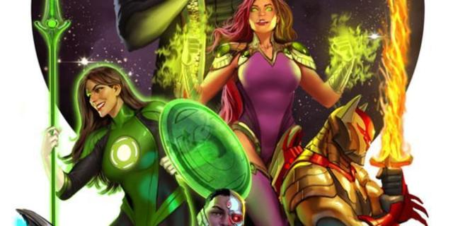 Justice League Odyssey - Cover