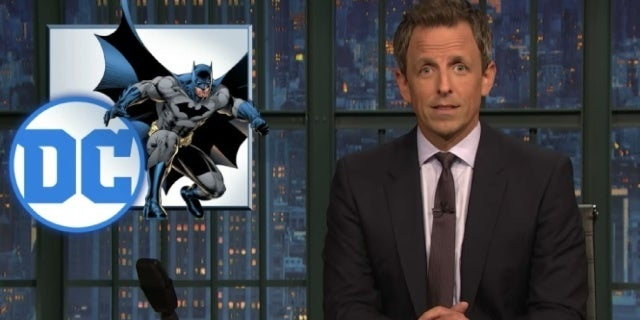 late night with seth meyers batman damned