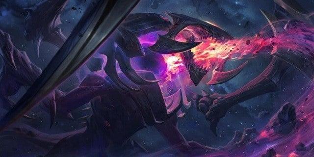 League of Legends Dark Star Cho'Gath