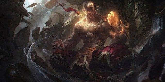 League of Legends God Fist Lee Sin