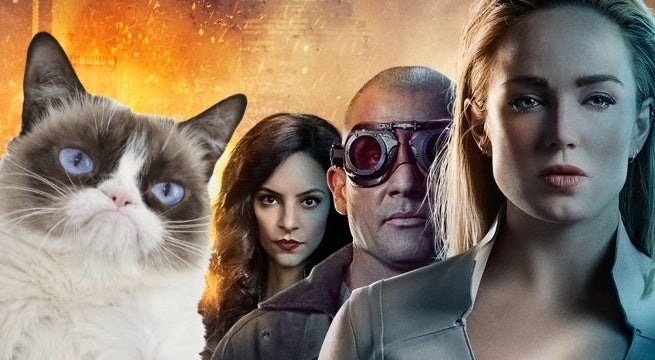 legends of tomorrow season 4 legends of meow meow
